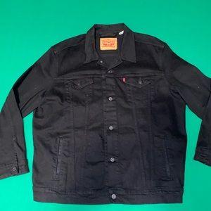 Black Levi Jean Jacket